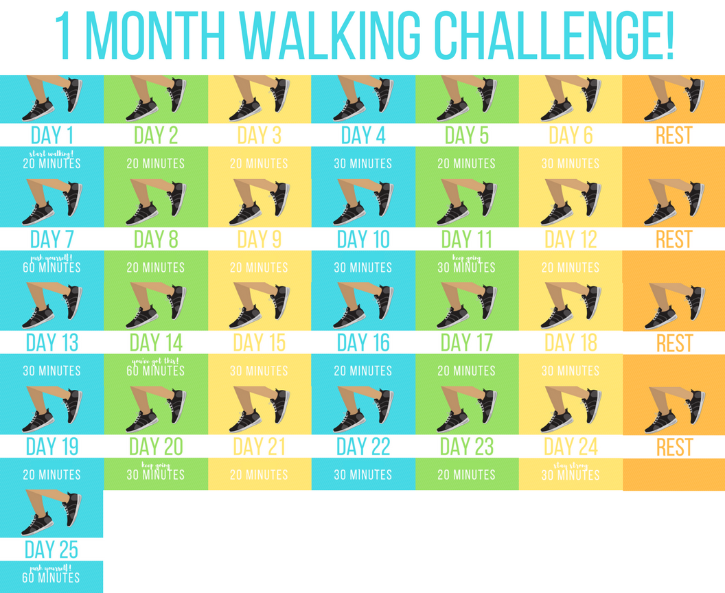 January Walking Challenge